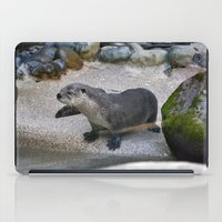 otter iPad Cases featuring Otter by Phil Hinkle Designs