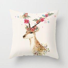 Doe 1 Throw Pillow