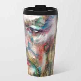 FYODOR DOSTOYEVSKY - watercolor portrait.3 Travel Mug