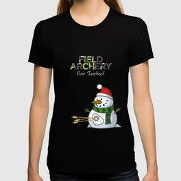 SNOWMAN - Field Archery T-shirt