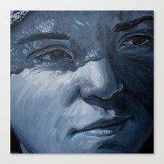 Blue Veins  Canvas Print