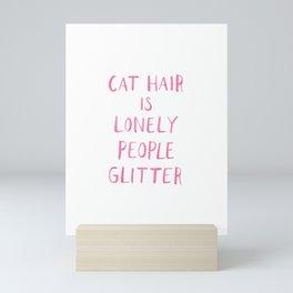 Cat Hair Mini Art Print