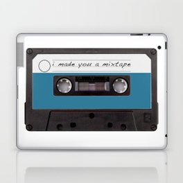 I made you a mixtape | Mix Tape Graphic Design Laptop & iPad Skin