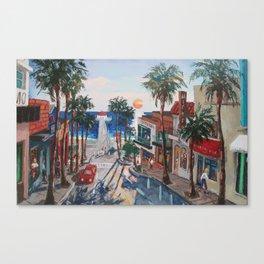 Manhattan Ave Canvas Print