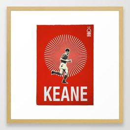 Nottingham Forest Legends Series: Roy Keane Graphic Poster Framed Art Print