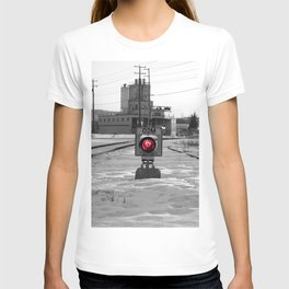 Train Track Signal Light T-shirt