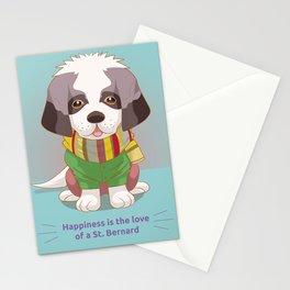 St. Bernard Stationery Cards