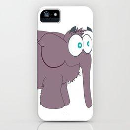 mamut elefante ilustração timoth iPhone Case
