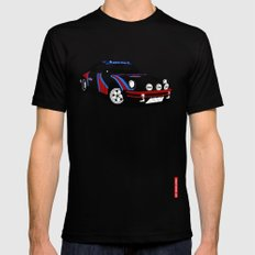 Porsche 911 X-LARGE Mens Fitted Tee Black