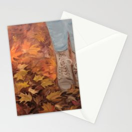 """""""A Simple Walk"""" Stationery Cards"""