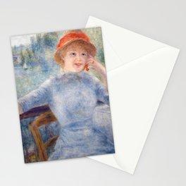 Auguste Renoir - Alphonsine Fournaise Stationery Cards