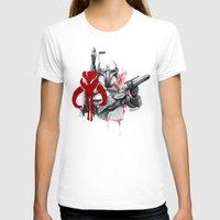 boba fett T-shirts featuring boba fett by Lyxy