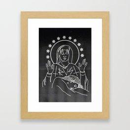 TRVST Framed Art Print