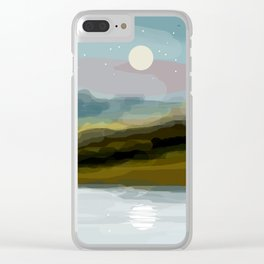 Southwestern Landscape Clear iPhone Case
