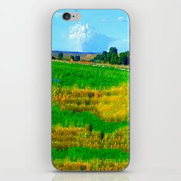 Nestled in the Valley:  Smoke on the Horizon iPhone Skin