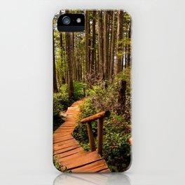 Cape Flattery Trail iPhone Case