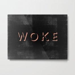 WOKE III Metal Print