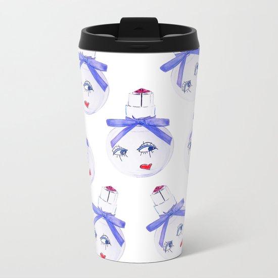 Pretty Face Parfum Metal Travel Mug
