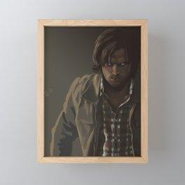 Ezekiel. Sam Winchester Framed Mini Art Print