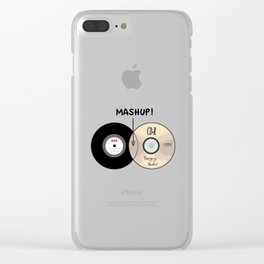 Venn diagram of a Mashup! Clear iPhone Case