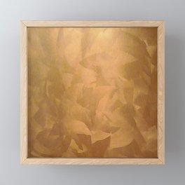 Beautiful Copper Metal - Corporate Art - Hospitality Art - Modern Art Framed Mini Art Print