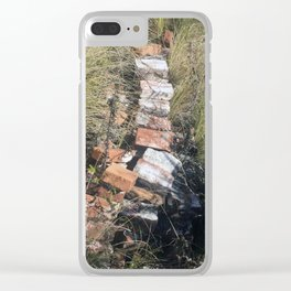 Goodbye Yellow Brick Road Clear iPhone Case