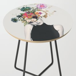 Floral beauty Side Table