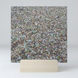 glass beach Mini Art Print