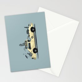 1-800-TAXI-DERMY Stationery Cards