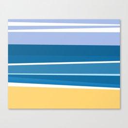Minimalist Beach - Surf Canvas Print