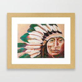 Iron Tail Painting Framed Art Print