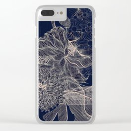..you will connect the dots eventually. Clear iPhone Case
