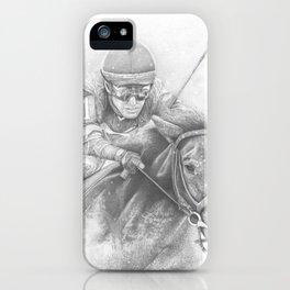 """""""WINTER RACING"""" iPhone Case"""