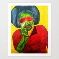 fleetwood mac Art Prints featuring MAC by Yaz's Gallery
