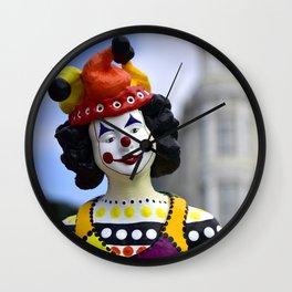 Clown - I Wall Clock