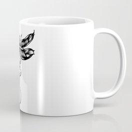 Dragonfly  bw Coffee Mug