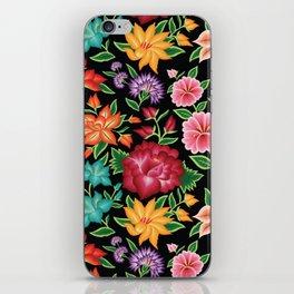 Floral Pattern from Oaxaca iPhone Skin