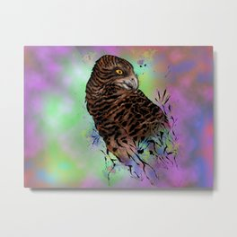 Harriet Owl Metal Print