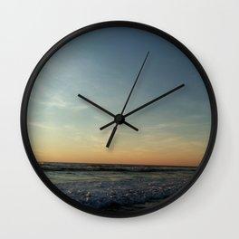 Oceanic landscape: Lacanau  12 Wall Clock