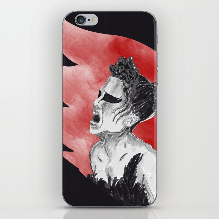Black Swan III iPhone Skin