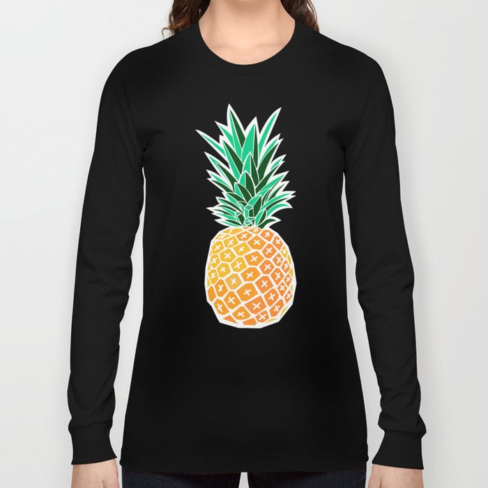 Pineapple Long Sleeve T-shirt