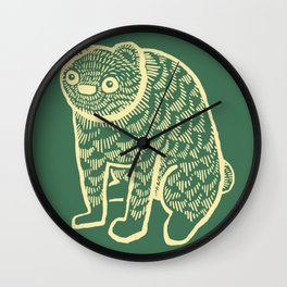 Sort of Bear Wall Clock