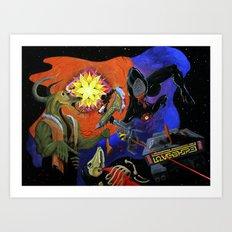 Astral Art Print