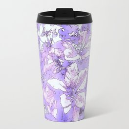 Christmas Bouquet in a purple haze Travel Mug