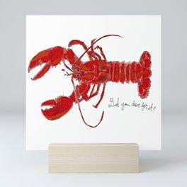Did You Dive For It? Mini Art Print