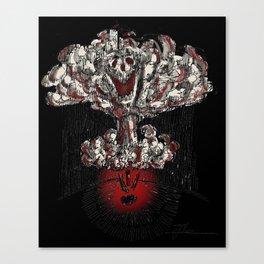 Nuclear Warhead Canvas Print