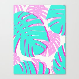 Tropical plant XIX Canvas Print