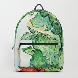 Berries and Broccoli Backpack