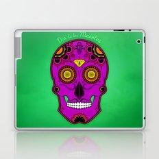 dia de los muertos (sugar skull) Laptop & iPad Skin