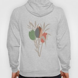 Spring flower pattern, tulips and lilies, 007 Hoody